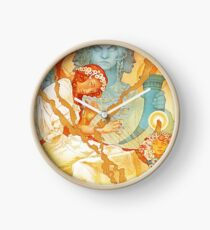 HD. The Slav Epic (1928), Alphonse Mucha Art Nouveau - High Definition Clock