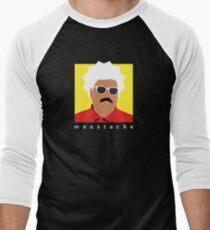 moustache  Men's Baseball ¾ T-Shirt