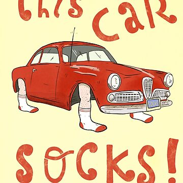 This car socks ! by EdTupelo