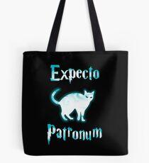 Expecto Patronum Cat. Tote Bag