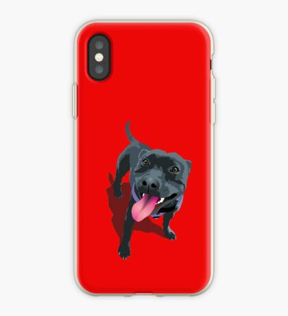 Staffy iPhone Case