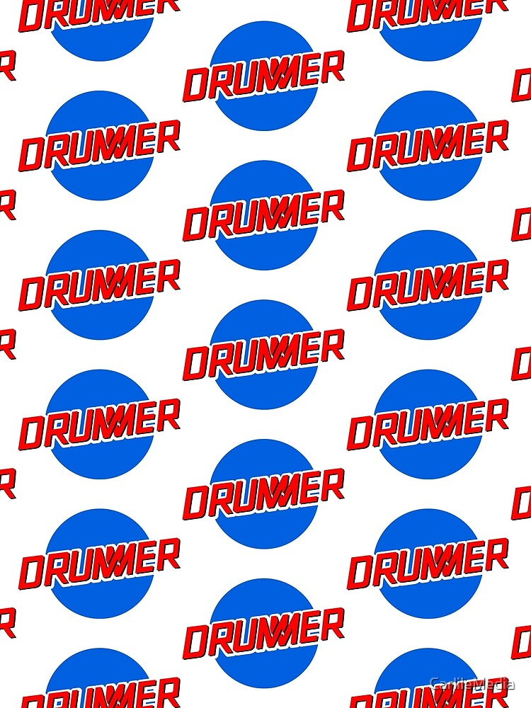 DRUMMER Meatball Logo by CarlileMedia