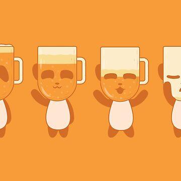 Amber Panda Beer (amber) by animinimal