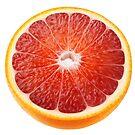 Half of sicilian orange by 6hands