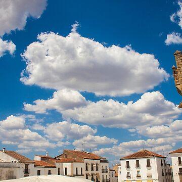Cáceres cielo by terezadelpilar