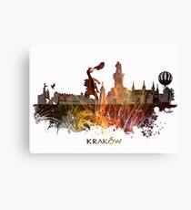 Kraków skyline city #krakow #cracow Canvas Print