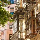 Hierro en Cáceres. Iron balconies. Spain by terezadelpilar ~ art & architecture