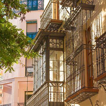 Hierro en Cáceres. Iron balconies. Spain by terezadelpilar