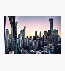City Skyline Photographic Print