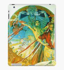 HD. 8th Sokol Festival , by Alphonse Mucha  (1912) High Definition iPad Case/Skin