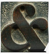 AMPERSAND & (type) #3 Poster