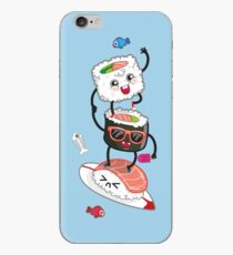 Surfin' sushi iPhone Case