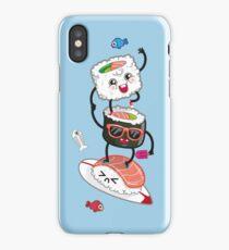Surfin' sushi iPhone Case/Skin
