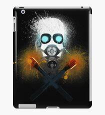 Combine Splatter Grunge iPad Case/Skin