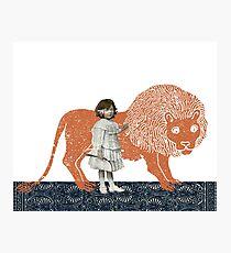 Pet Lion Photographic Print
