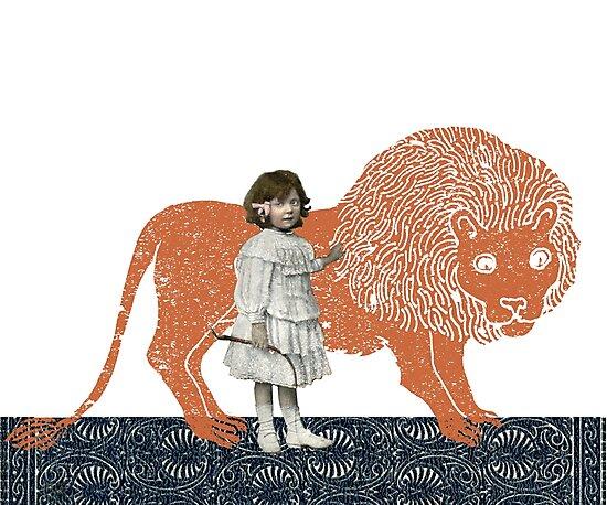 Pet Lion by SusanSanford