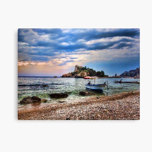 Isola Bella, Taormina, Sicily Canvas Print