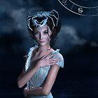 Cancer zodiac fantasy circle by Britta Glodde