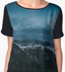 Moonshine - Landscape and Nature Photography Chiffon Top
