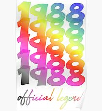30th birthday posters redbubble