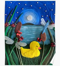 The Snuggly Ducking Poster