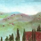 A Summer in Italy: Tuscan Horizon by NoelleMBrooks
