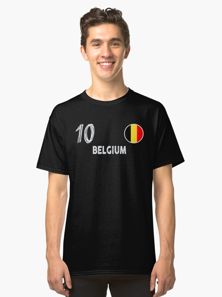 fbfe9cf0aed Belgium  10 World Cup Shirt Football Kit For Russia 2018 Belgian National  Team Store Soccer