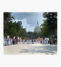 National Woman's Party marching in Washington D.C. May 21, 1922. Photographic Print