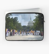 National Woman's Party marching in Washington D.C. May 21, 1922. Laptop Sleeve