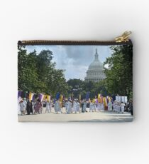 National Woman's Party marching in Washington D.C. May 21, 1922. Zipper Pouch