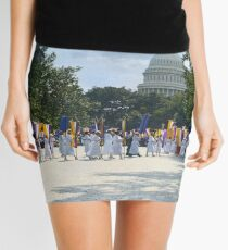National Woman's Party marching in Washington D.C. May 21, 1922. Mini Skirt
