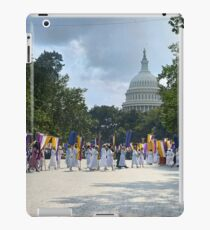 National Woman's Party marching in Washington D.C. May 21, 1922. iPad Case/Skin