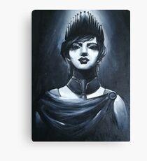 Monocromatic Queen Canvas Print