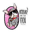 French bulldog big eyes sailor who talk about love by margherita arrighi