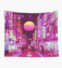 Tela decorativa tokyo vaporwave