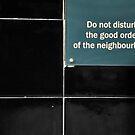 Do Not Disturb by Jen Waltmon