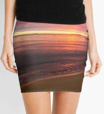 Sullivan Bay, Sorrento - sun is rising Mini Skirt