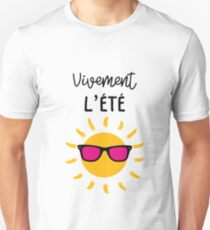 I can not wait for summer ! Sun / Holidays Unisex T-Shirt