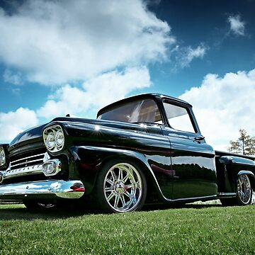 1958 Chevy Apache Pickup by mal-photography