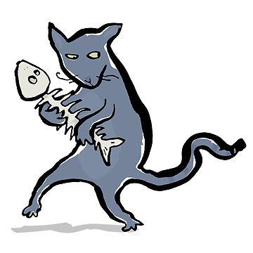 gangsta kitten by greendeer