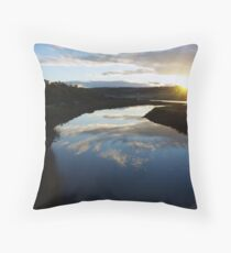 Inlet Sunrise. Throw Pillow