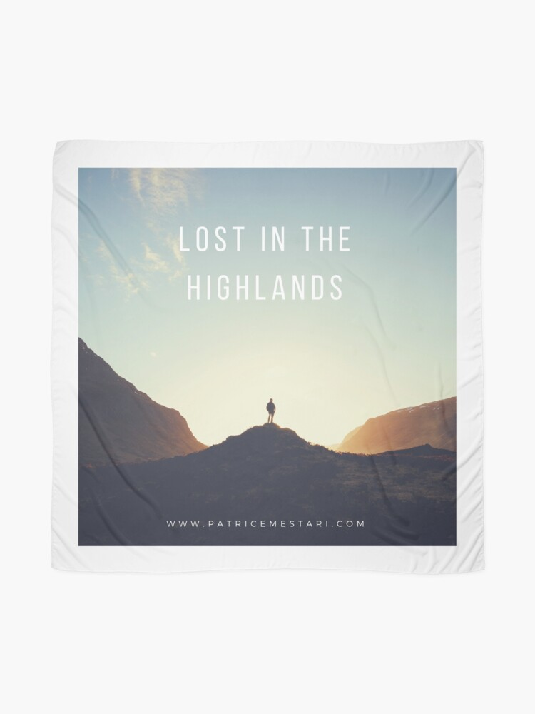 Foulard ''Lost in the Highlands' : autre vue