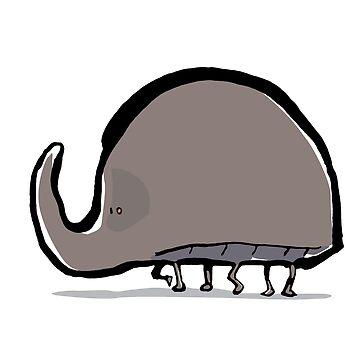 rhinoceros beetle by greendeer