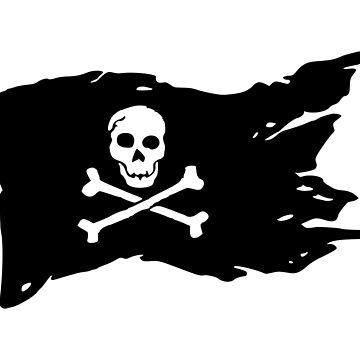 Pirate's flag by fourretout