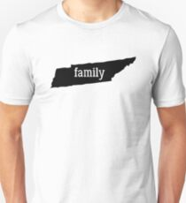 Tennessee Cool Gift Family State Shirt Dark Unisex T-Shirt