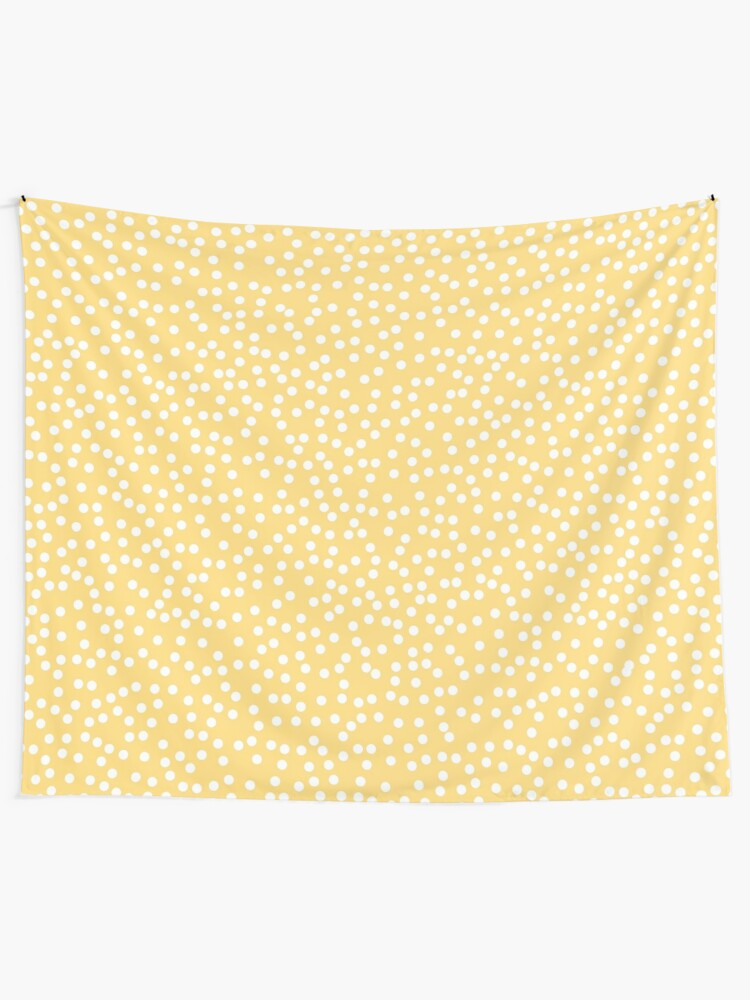 c647dd87d1867c Simple Yellow and White Polka Dots