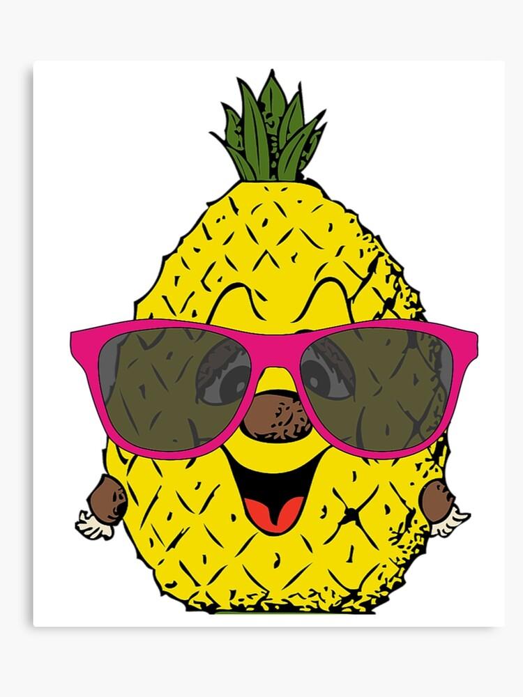 cf2b6b775bce Hawaii Pineapple With Sunglasses