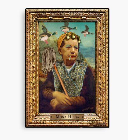 Mona Hilda Canvas Print