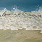 Porthminster wave by Carole Russell