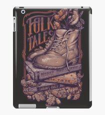 FOLK TALES - Purple and orange iPad Case/Skin